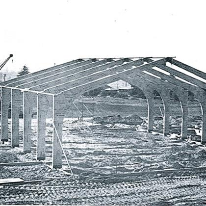 Construction_of_St._Mary_s_School-_Gymnasium_Erected