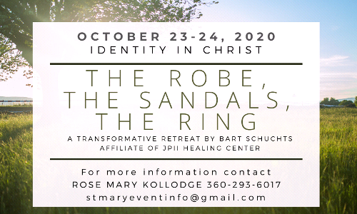 CLOSED: Registration open! The Robe, The Sandals, The Ring